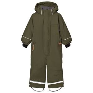 eBBe Kids Unisex Commission Coveralls Green Texas winter suit Mossgreen