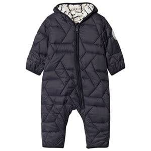 Emma och Malena Unisex All in ones Blue Ulven Quilted Suit with Mackerel