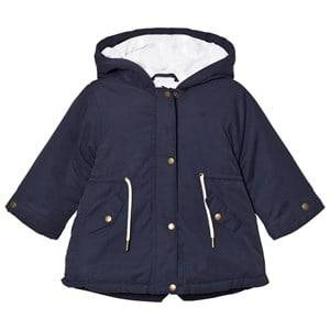 Cyrillus Girls Coats and jackets Navy Navy 3 in 1 Hooded Jacket and Gilet