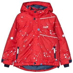 Muddy Puddles Unisex Coats and jackets Red Red Interstellar Blizzard Ski Jacket