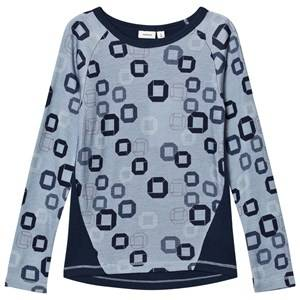 Name it Unisex Jumpers and knitwear Blue Tröja, Merinoull, Willtoche, NOOS,