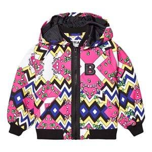 The BRAND Unisex Private Label Coats and jackets Pink Multi Jacket Multi Color