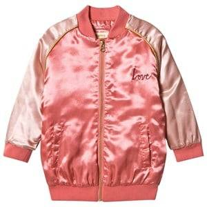 Soft Gallery Girls Coats and jackets Pink Sandy Jacket  Crabapple, Heartart