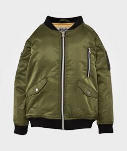 The BRAND Unisex Private Label Coats and jackets Green Bomb Jacket Olive Green