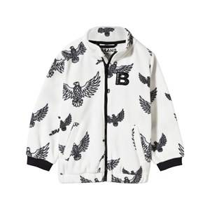 The BRAND Unisex Private Label Fleeces White Fleece Sweater Off White Eagles