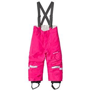 Didriksons Girls Bottoms Pink Idre Kids Pants      Fuchsia