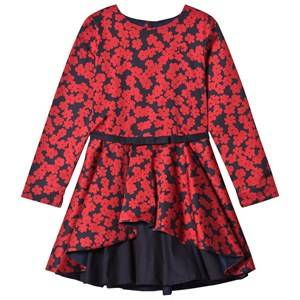 Jessie & James Girls Dresses Red Red Poppies Layered Dress