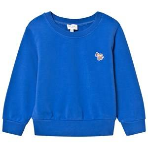 Paul Smith Junior Boys Jumpers and knitwear Blue Blue Sweater with Zebra Badge