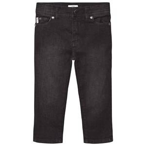 Paul Smith Junior Boys Bottoms Black Washed Black Slim Fit Jeans
