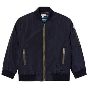 Paul Smith Junior Boys Coats and jackets Navy Navy Bomber Jacket with Quilted Lining