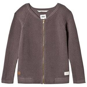eBBe Kids Unisex Commission Jumpers and knitwear Grey Snow Knitted Jacket Grey Waffle