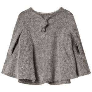 Kiss How To Kiss A Frog Girls Coats and jackets Grey Doris Cape Grey