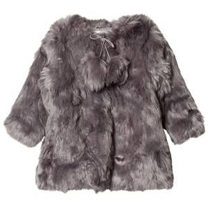 Kiss How To Kiss A Frog Girls Coats and jackets Grey Muriel Coat Grey