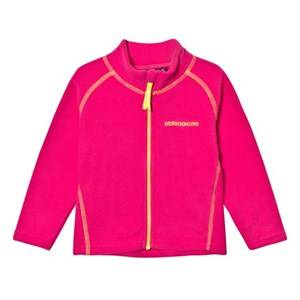 Didriksons Girls Fleeces Pink Monte Kids Fleece Jacket Fuchsia