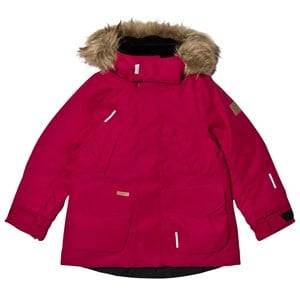 Reima Girls Coats and jackets Pink Reimatec® Down Jacket Serkku Dark Berry