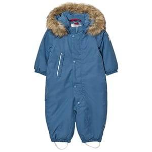 Reima Unisex Coveralls Blue Reimatec® Winter Snowsuit Gotland Soft Blue