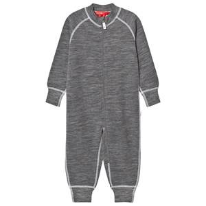 Reima Unisex Coveralls Grey Overall Parvin Melange Grey