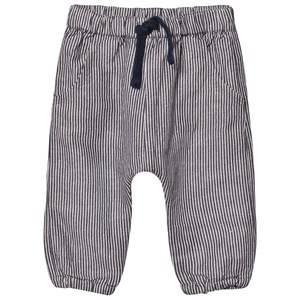 Hust&Claire; Boys Bottoms Blue Striped Pants Navy