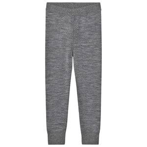 Hust&Claire; Unisex Bottoms Grey Leggings Wool Grey