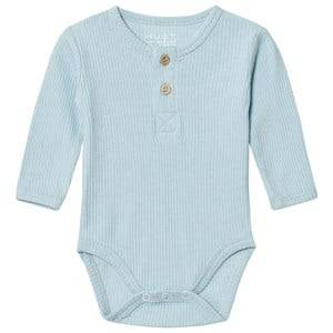Hust&Claire; Unisex All in ones Blue Baby Body Winter Sky