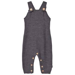 Hust&Claire; Unisex All in ones Grey Knit Overall Grey