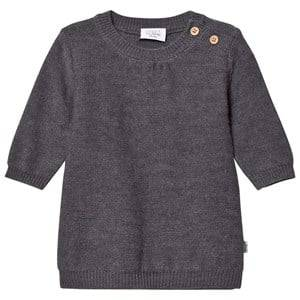 Hust&Claire; Girls Dresses Grey Knit Sweater Grey