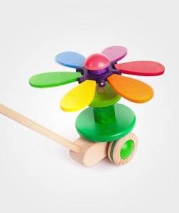 Bajo Unisex First toys and baby toys Flower Push Toy