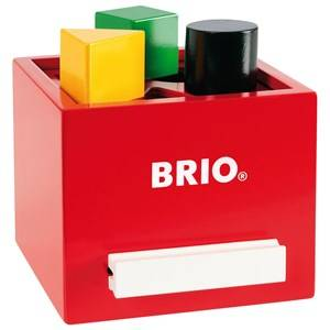 Brio Unisex First toys and baby toys Red Sorterings Box