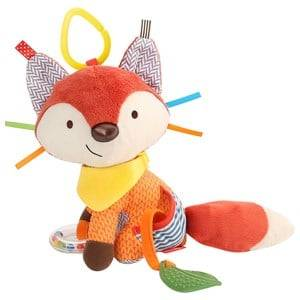 Skip Hop Unisex Norway Assort First toys and baby toys Multi Bandana Buddies Activity Animal Fox