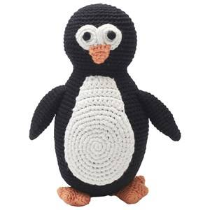 natureZOO Unisex First toys and baby toys Black Plush Sir Penguin