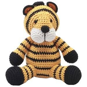 natureZOO Unisex First toys and baby toys Yellow Musical Toy Mr Tiger