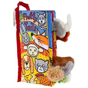 Jellycat Unisex First toys and baby toys Multi Fluffy Tails Book