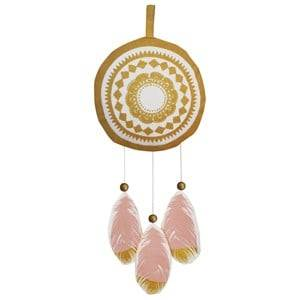 Elodie Details Unisex First toys and baby toys Pink Musical Mobile - Feather Love Small