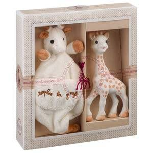 Sophie The Giraffe Unisex First toys and baby toys Multi Sophie-sticated: Sophie and Cuddle Blanket