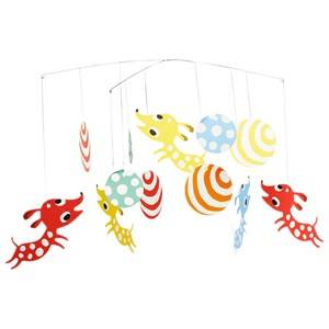 Littlephant Unisex First toys and baby toys Multi Puppy Mobile