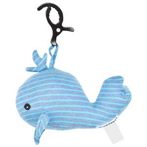Geggamoja Unisex First toys and baby toys Blue Music Whale Denim/Turquoise