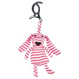 Geggamoja Unisex First toys and baby toys Pink Mini Doddi Pink/Red