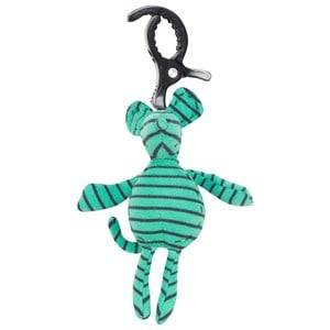 Geggamoja Unisex First toys and baby toys Green Mouse Green/marine