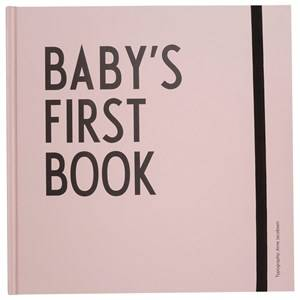Design Letters Unisex Norway Assort First toys and baby toys Pink Baby´s First Book - Pink