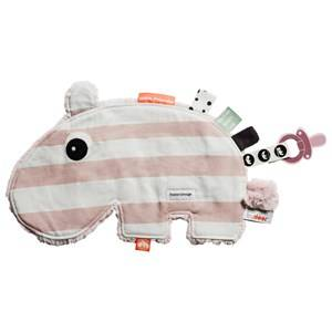Done by Deer Unisex First toys and baby toys Pink Ozzo Cozy Friend Powder Stripe