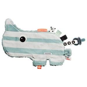Done by Deer Unisex First toys and baby toys Blue Nozo Cozy Friend Blue Stripe