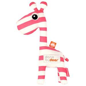 Done by Deer Unisex Norway Assort First toys and baby toys Pink Raffi Rattle Raspberry
