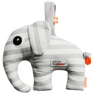 Done by Deer Unisex First toys and baby toys Grey Elphee Musical Toy Grey