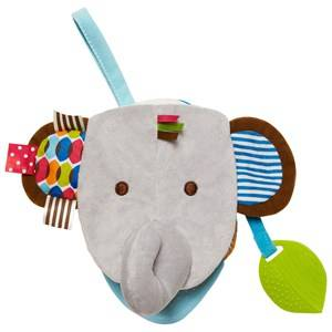 Skip Hop Unisex First toys and baby toys Multi Bandana Buddies Baby Puppetbook Elephant