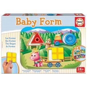 Maki Unisex First toys and baby toys Multi Baby Form