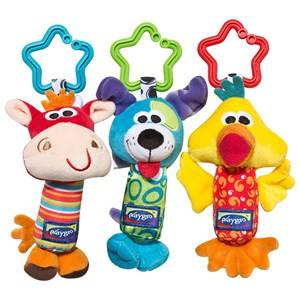 Playgro Unisex Norway Assort First toys and baby toys Multi Tinkel Trio