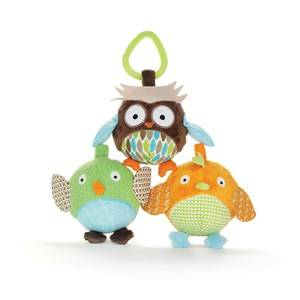 Skip Hop Unisex First toys and baby toys Multi Treetop Friends Owl & Friends Ball Trio