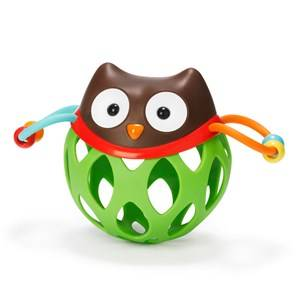 Skip Hop Unisex First toys and baby toys Multi Explore & More Roll-Around Rattle Owl