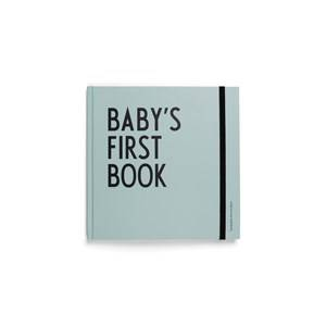Design Letters Unisex Norway Assort First toys and baby toys Blue Baby´s First Book - Turquoise