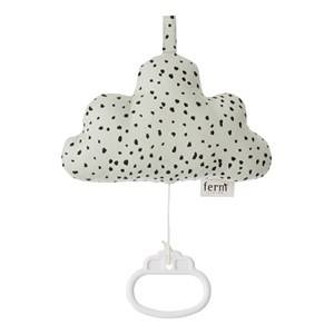 ferm LIVING Unisex First toys and baby toys Grey Cloud Music Mobile